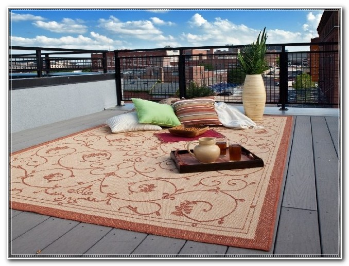 Outdoor Rug For Wood Deck