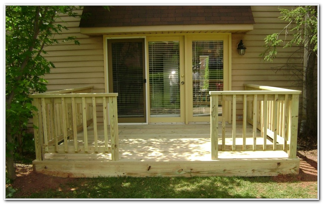 Outside Deck Design Pictures