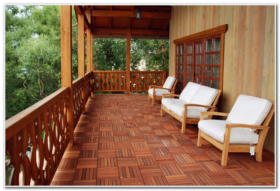 Patio Deck Flooring Options