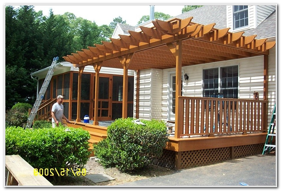 Pergola For Small Decks