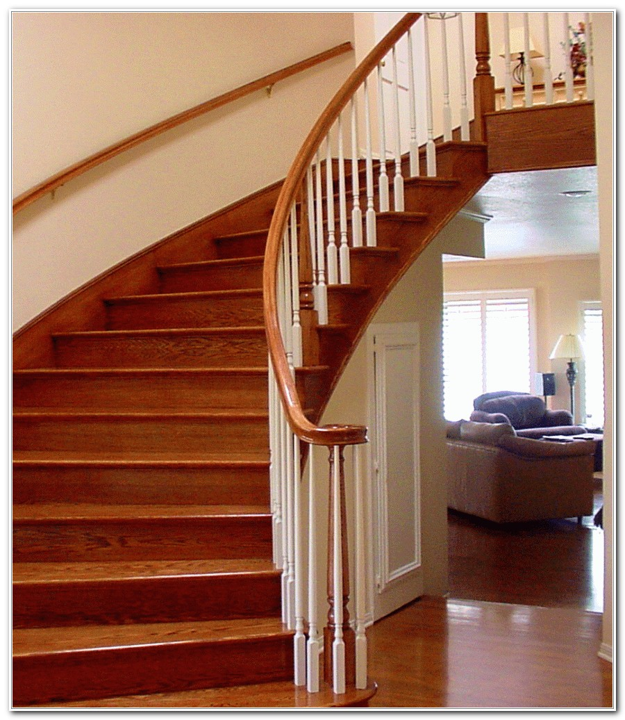 Pictures Of Wood Deck Stairs