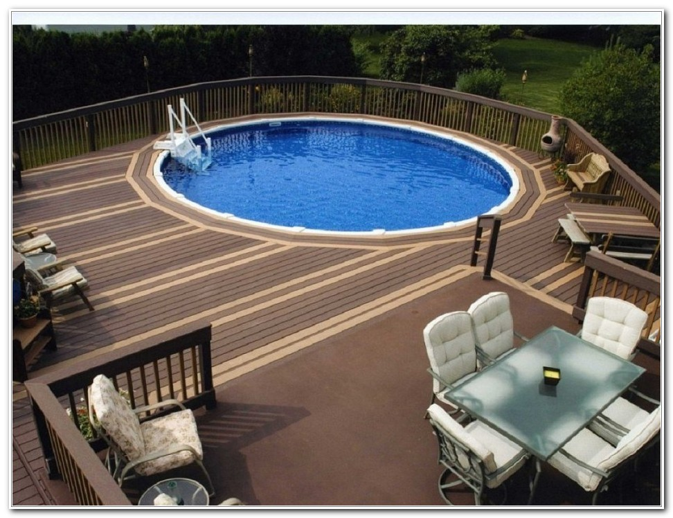 Pool Deck For Above Ground Pools