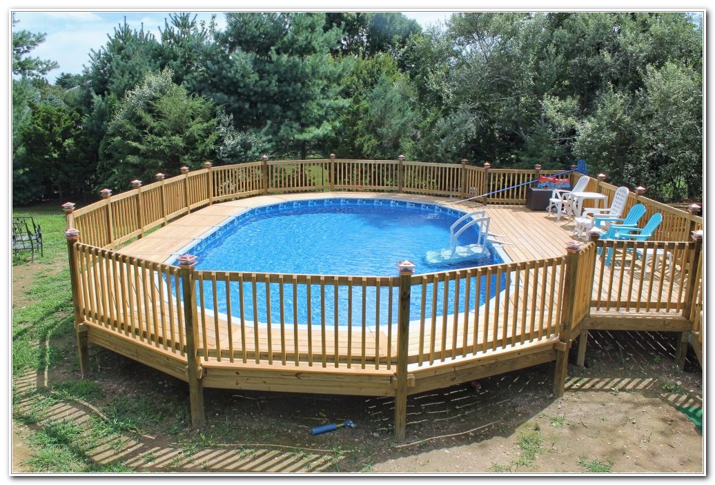 Pool Deck Ideas For Above Ground Pools