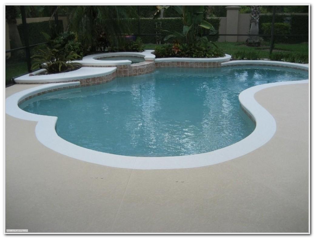 Pool Deck Paint Color Ideas