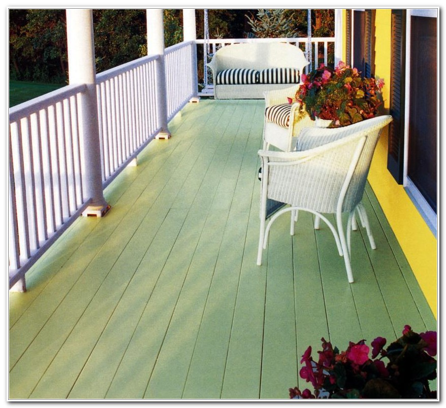 Porch And Deck Paint
