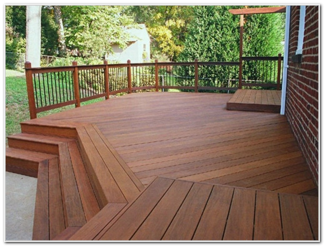 Pressure Treated Deck Stain