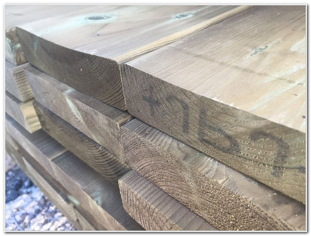 Pressure Treated Hardwood Decking