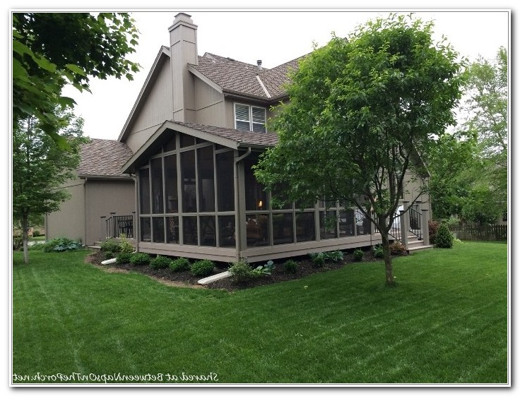 Replace Deck With Screened Porch