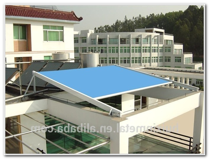 Retractable Sun Shade For Deck