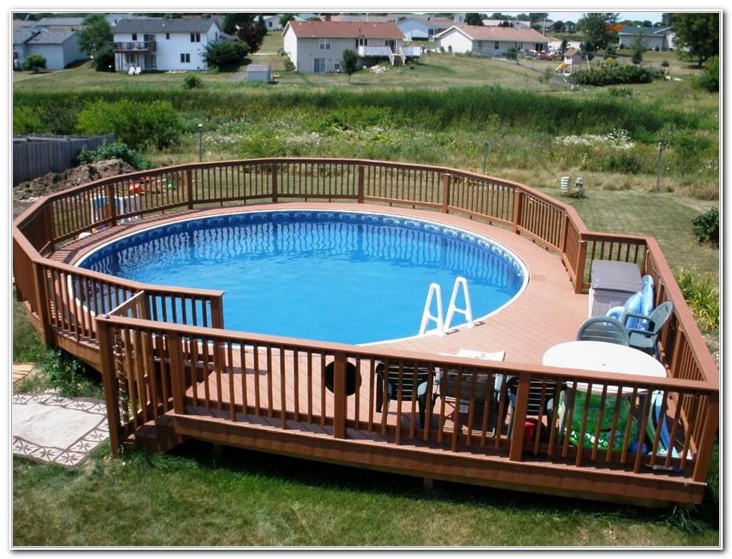 Round Pool Deck Ideas