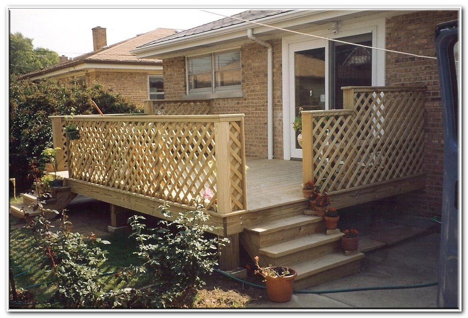 Small Back Porch Deck Ideas