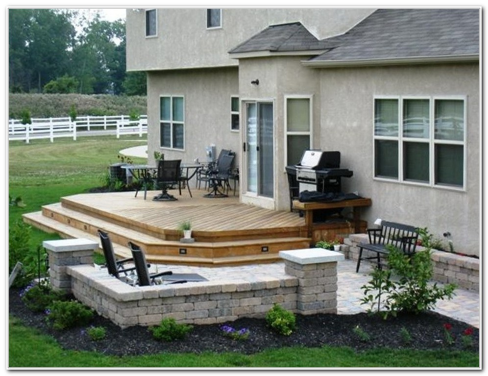 Small Backyard Deck Patio Ideas