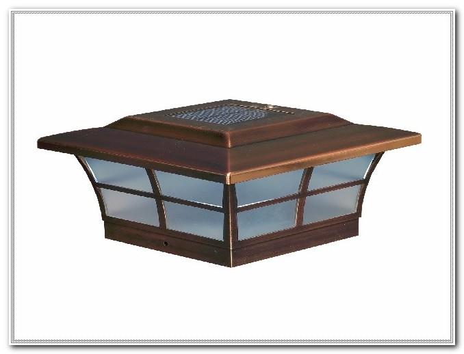 Solar Deck Post Lighting Fixtures