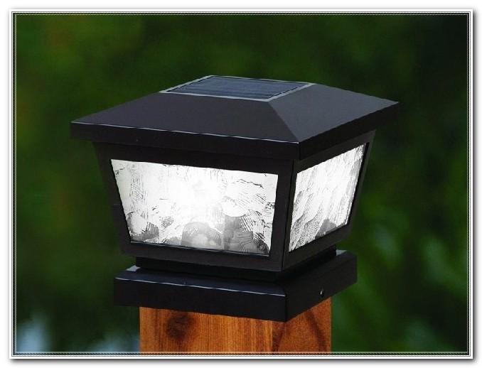 Solar Deck Post Lights 4x4