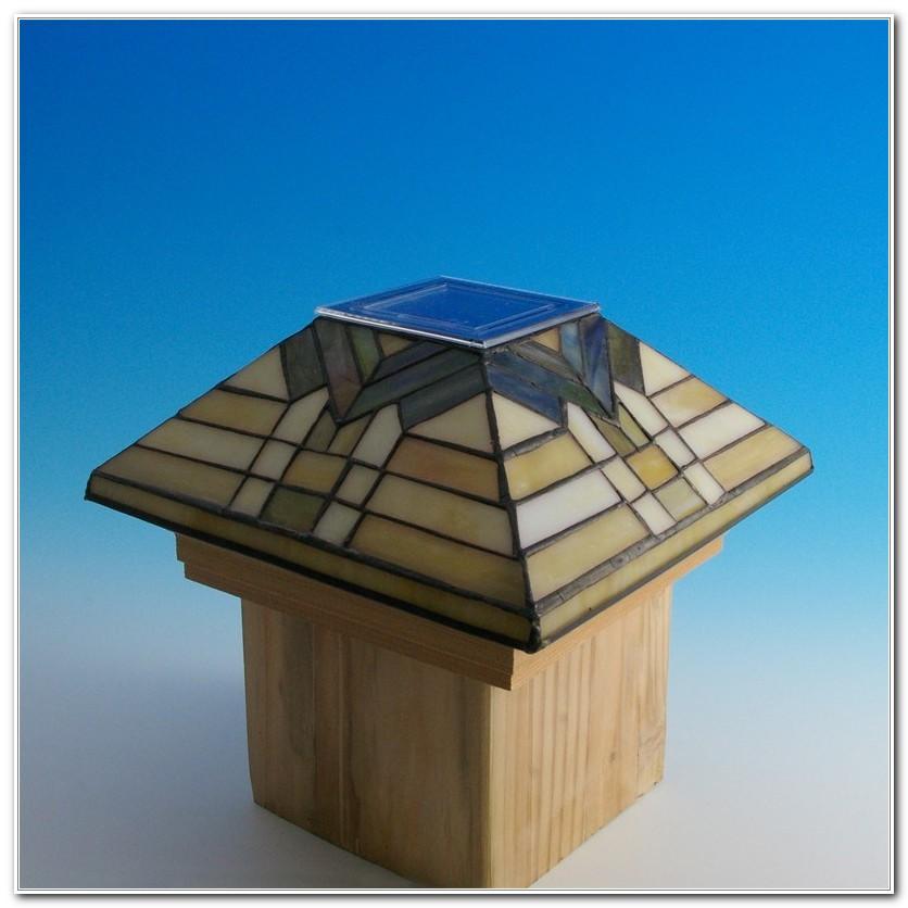 Solar Deck Post Lights