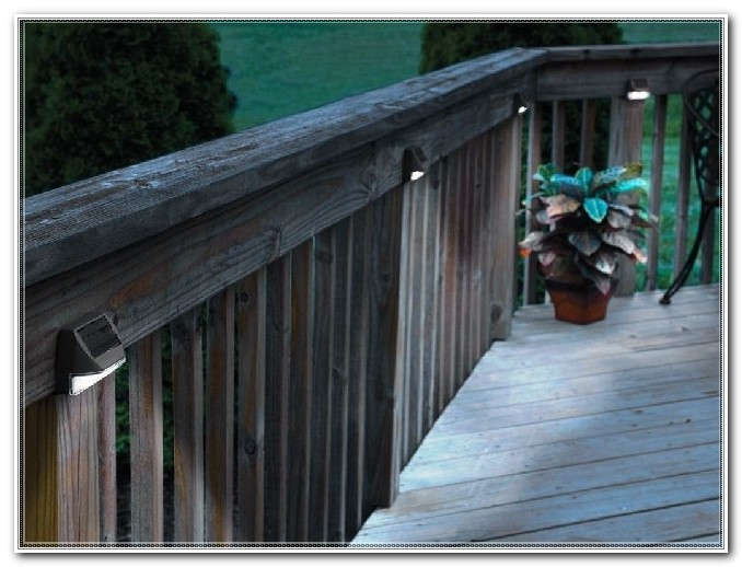 Solar Powered Deck Lighting