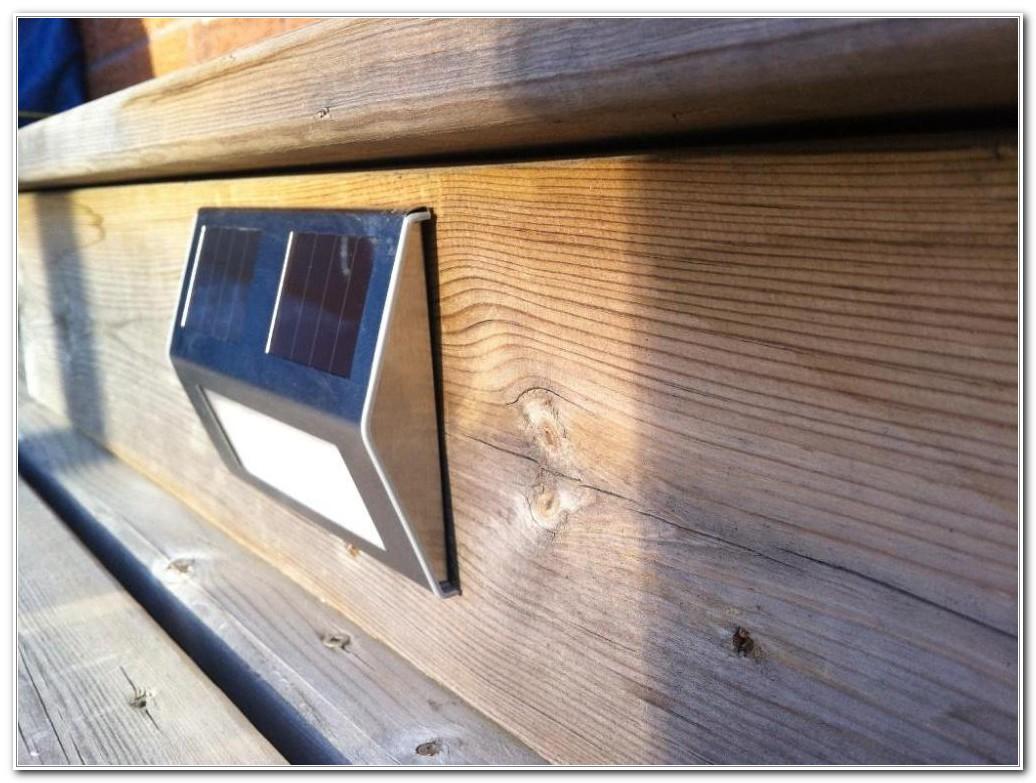 Solar Powered Deck Lights