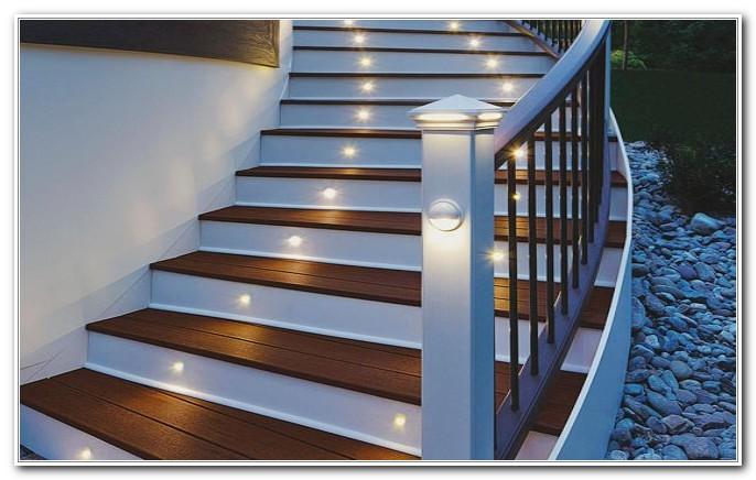 Solar Powered Deck Step Lighting