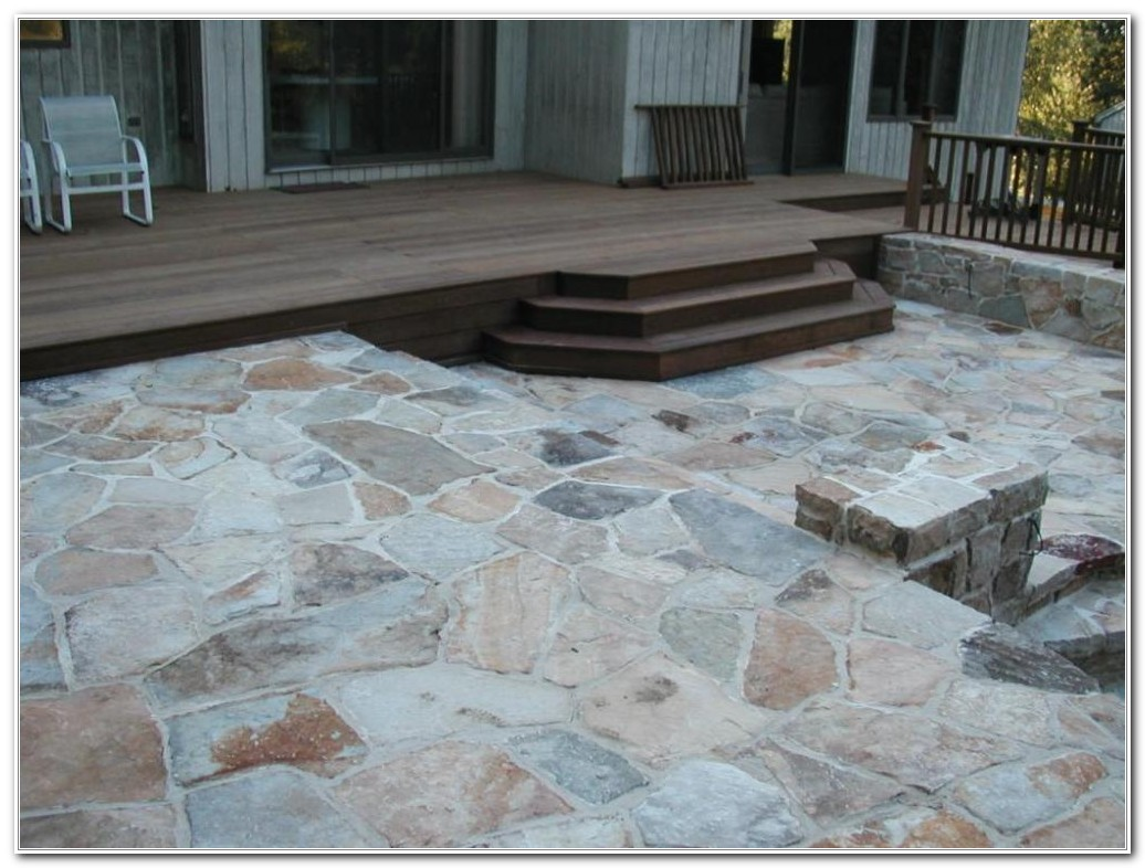 Stone Decks And Patios Designs