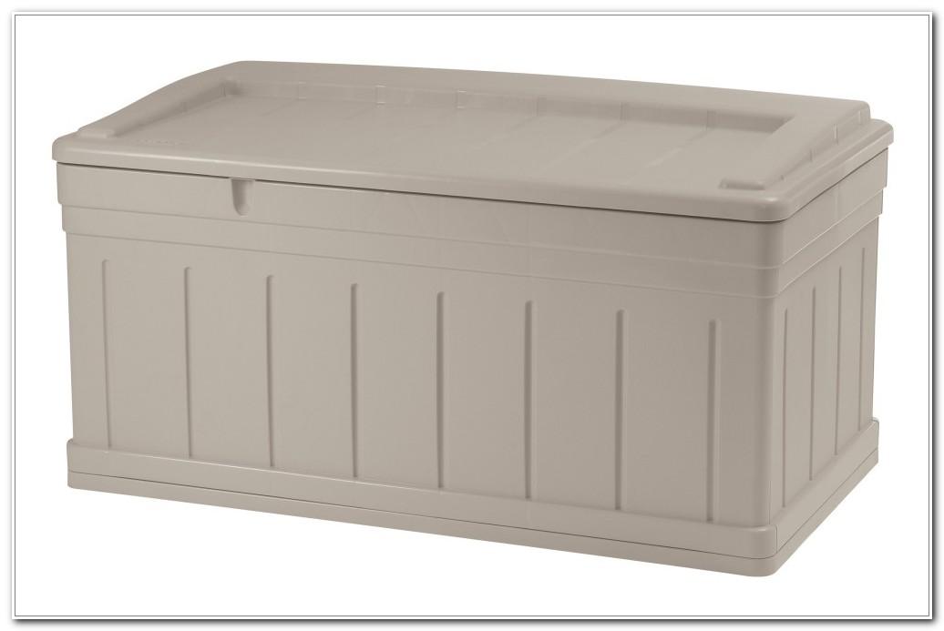 Suncast Deck Box With Seat