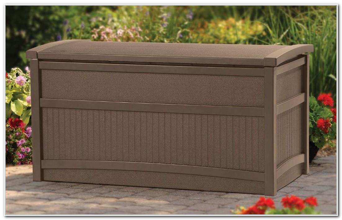 Suncast Deck Storage Box With Seat