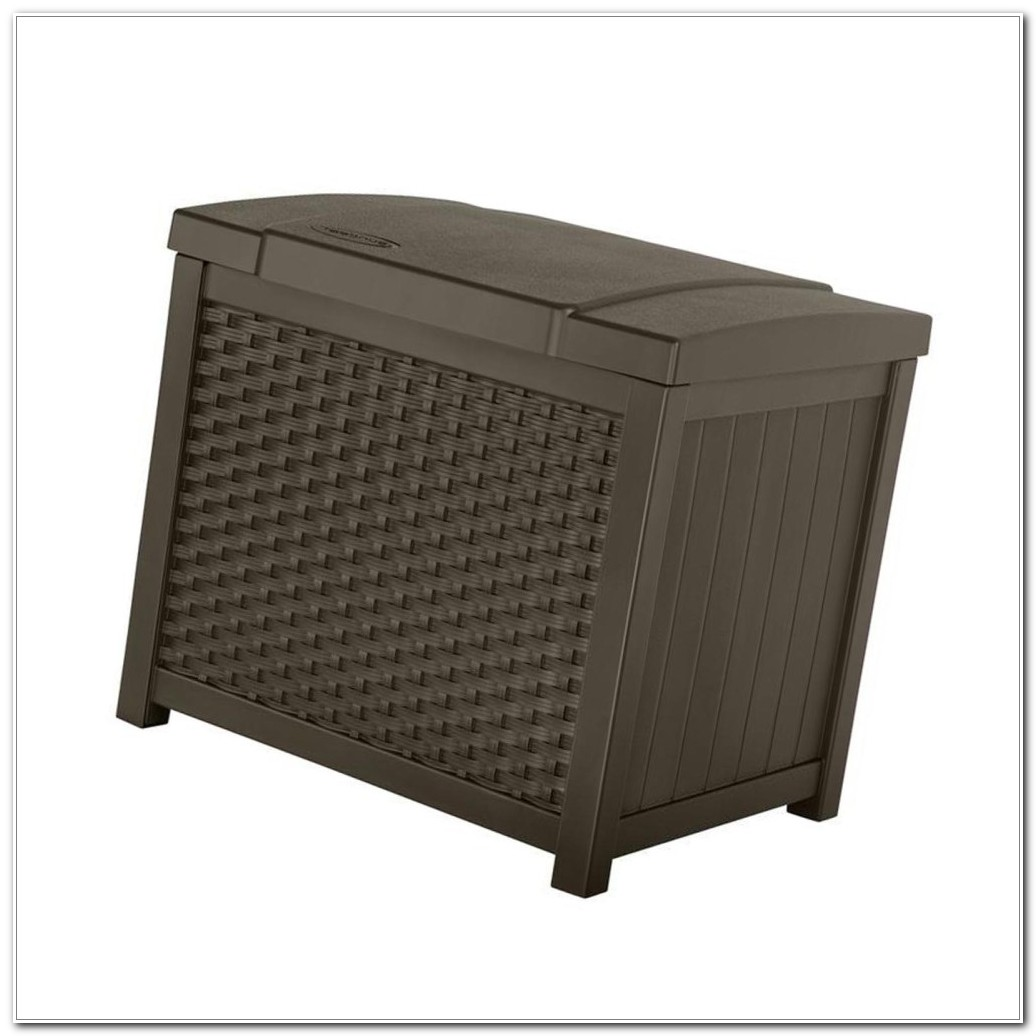 Suncast Outdoor Deck Storage Box
