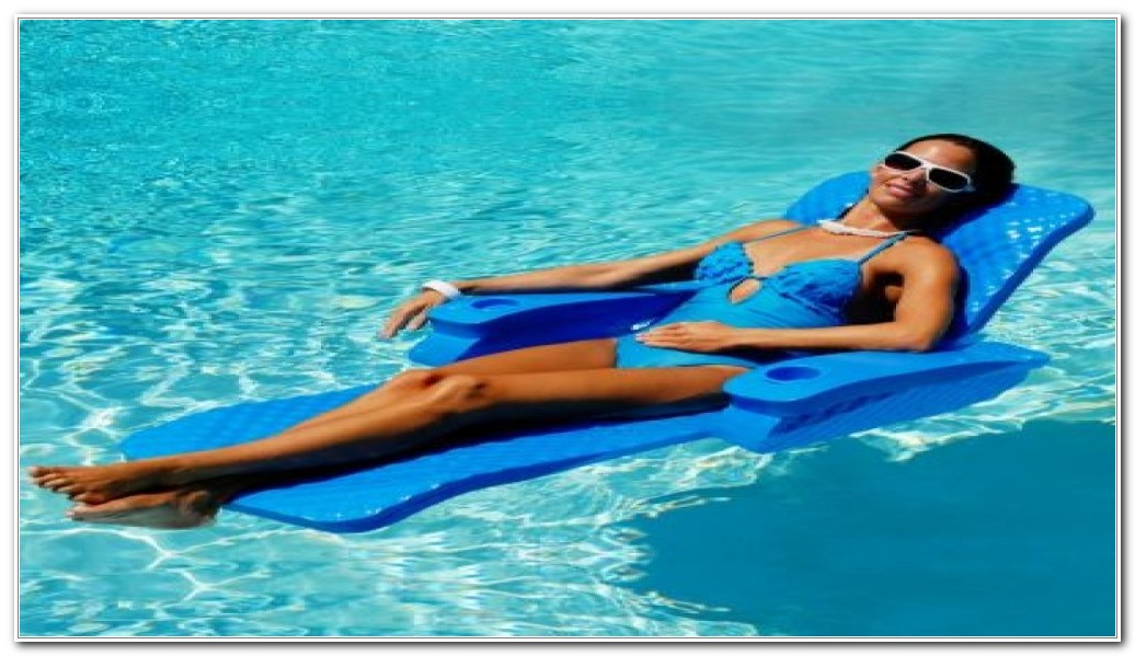 Swimming Pool Floating Lounge Chairs
