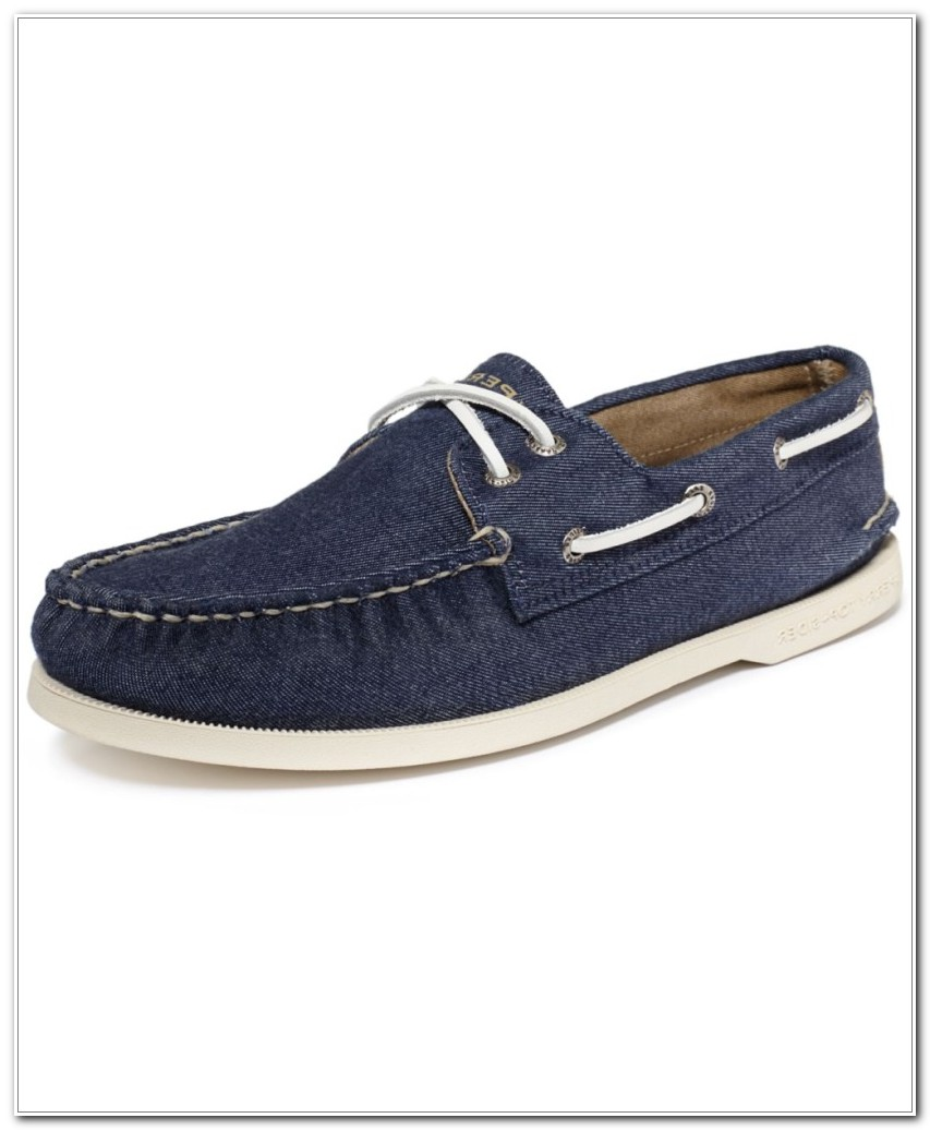 Top Sider Canvas Boat Shoes
