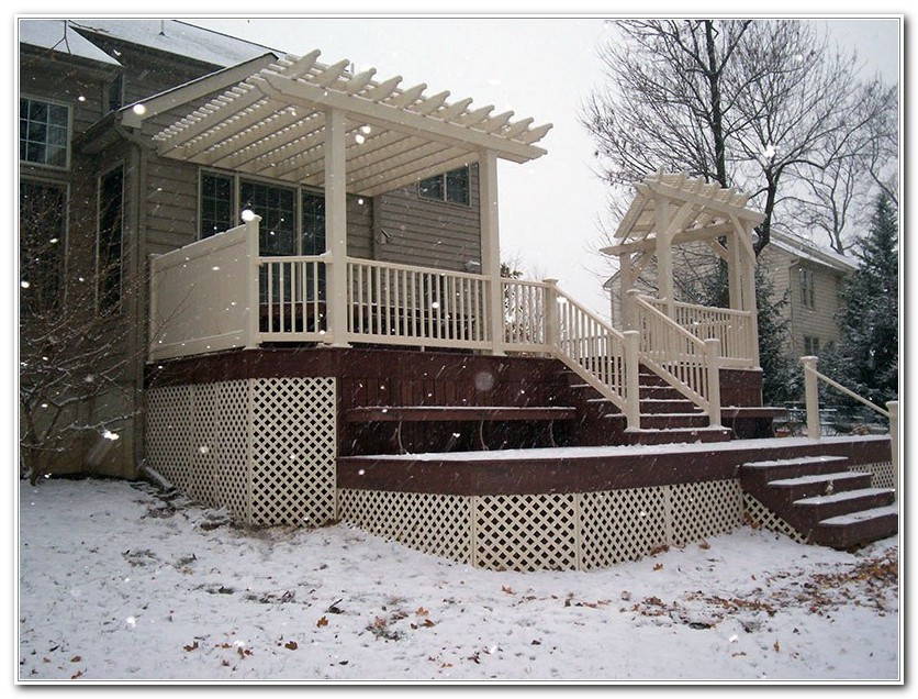 Treated Wood Decks Maintenance