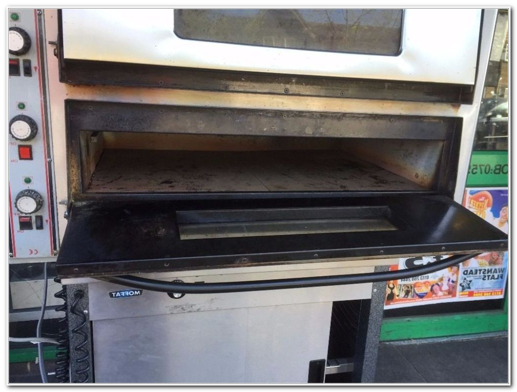 Used Double Deck Pizza Oven