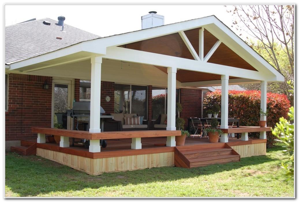 Wood Deck Design Images