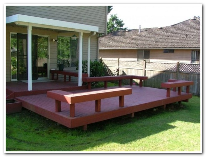 Wood Deck Pictures Ideas