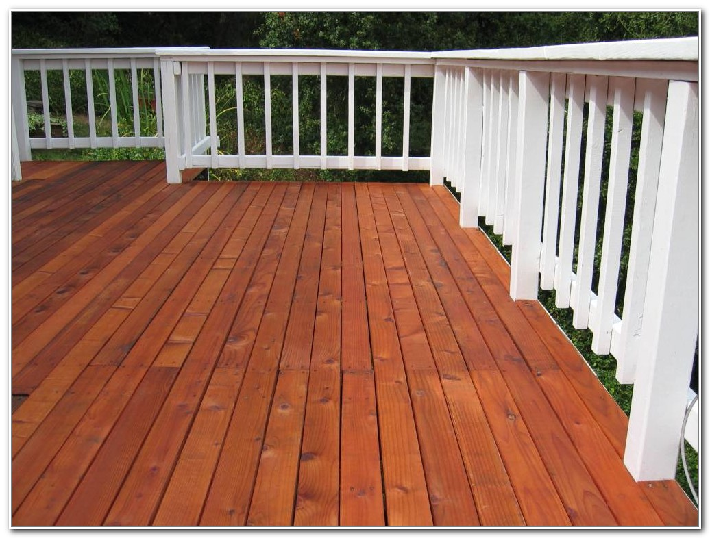 Wood Deck Stain Colors