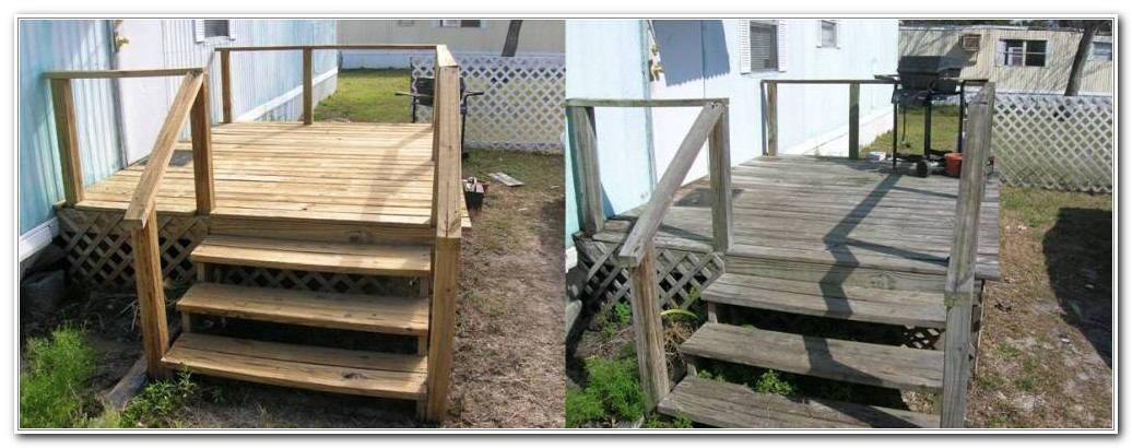 Wood Decks For Mobile Homes