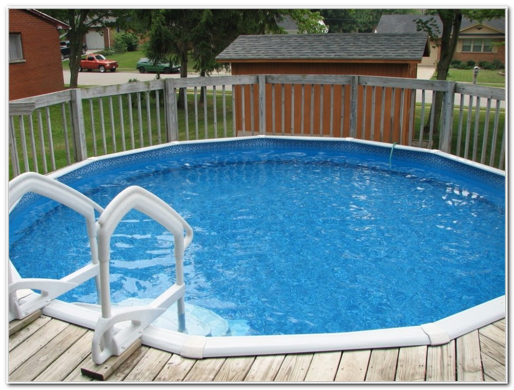 Wood Swimming Pool Deck Kits
