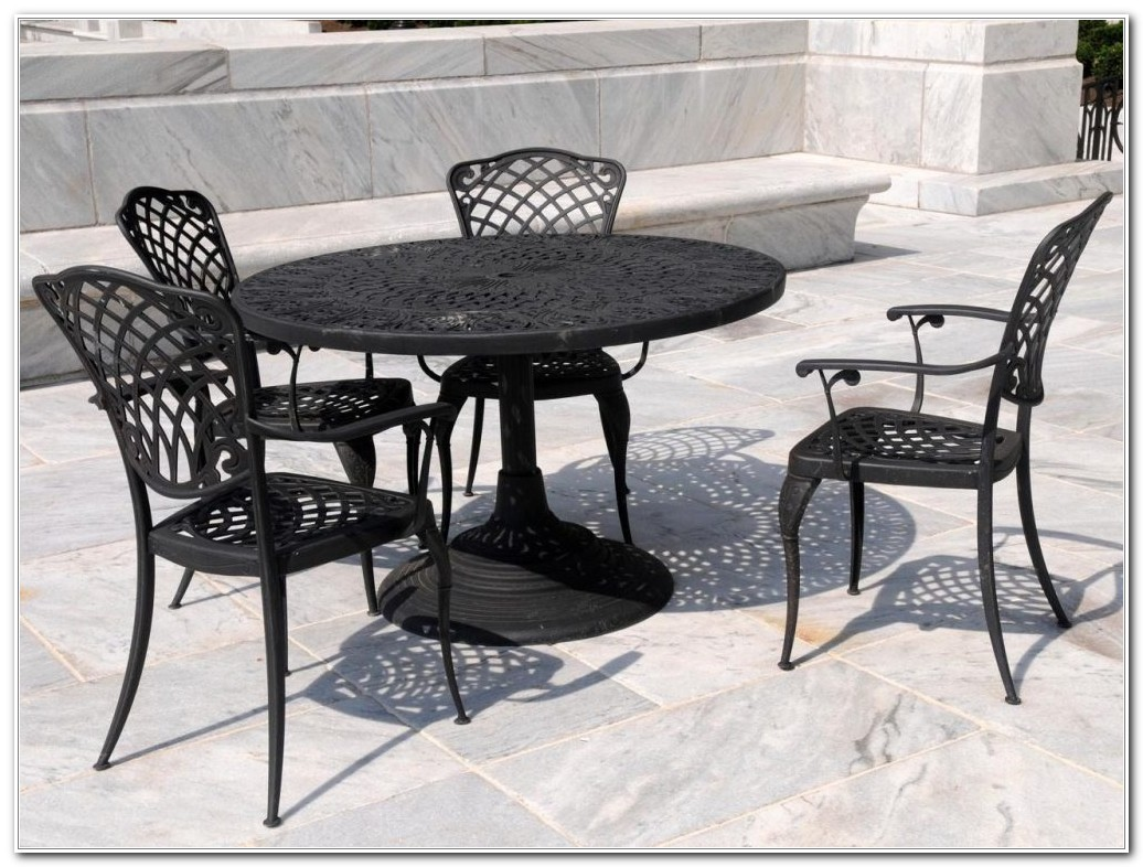 Wrought Iron Outdoor Furniture Ebay