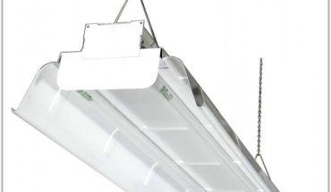 2 Lamp T8 Industrial Fixture