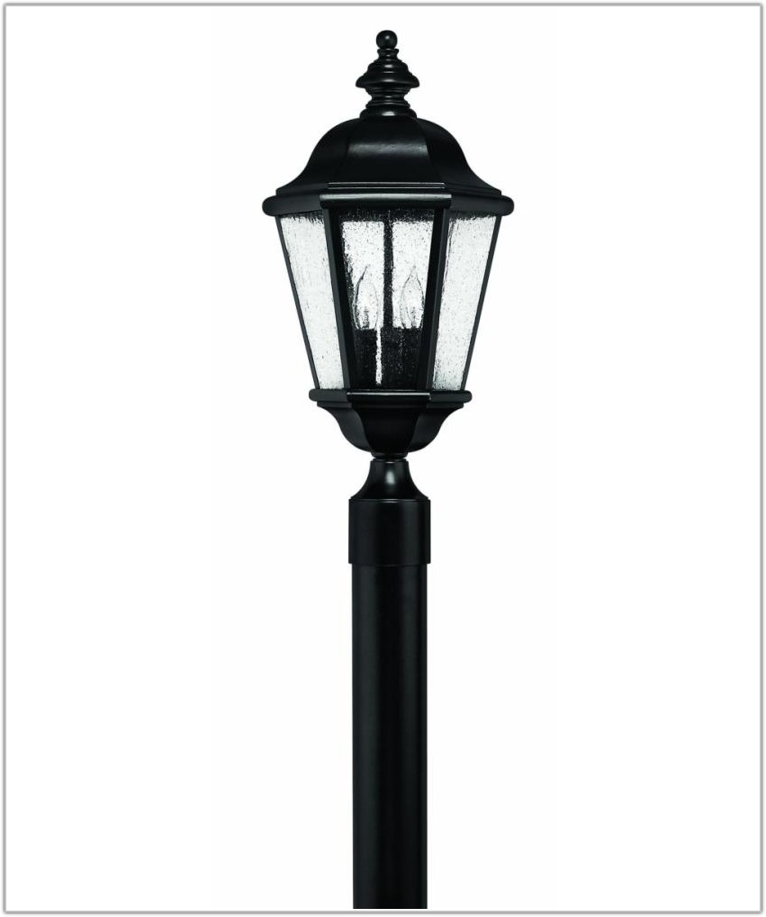 3 Light Outdoor Lamp Post
