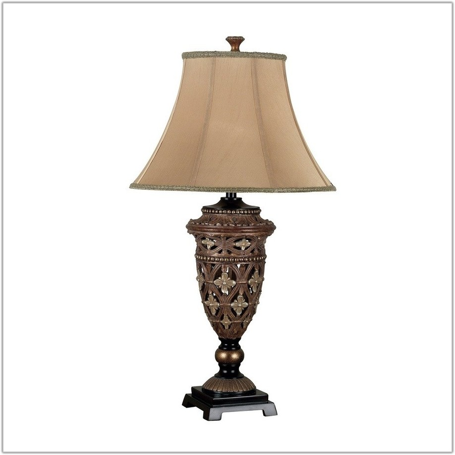 3 Way Bronze Table Lamp