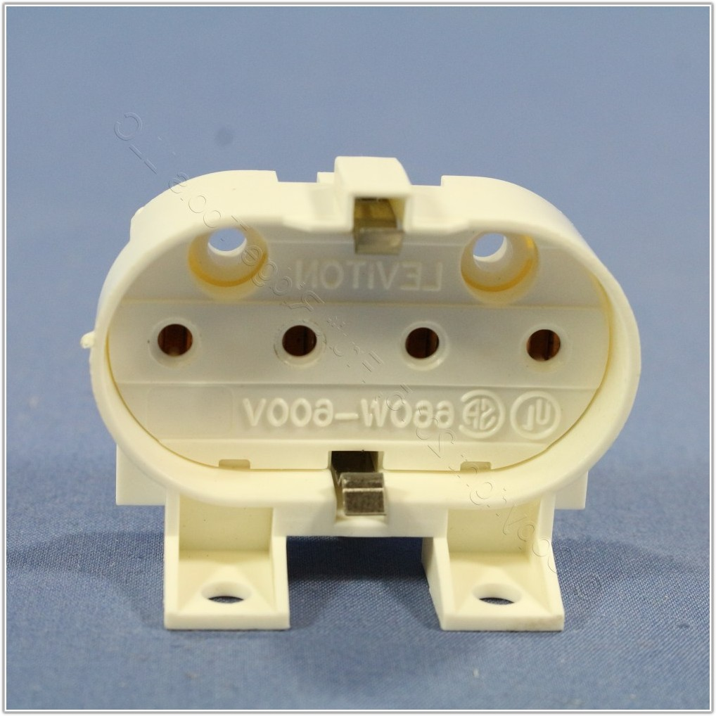 4 Pin Fluorescent Lamp Socket