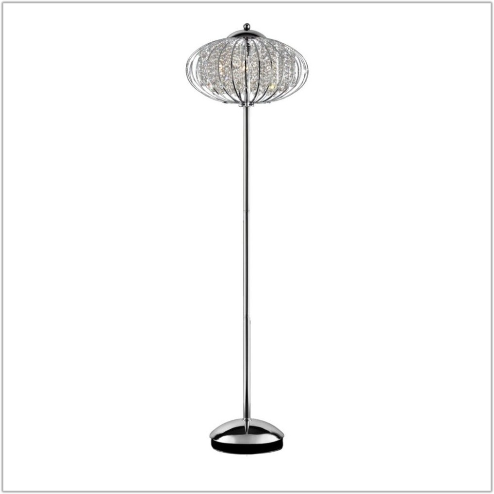 5 Arm Arch Floor Lamp Black