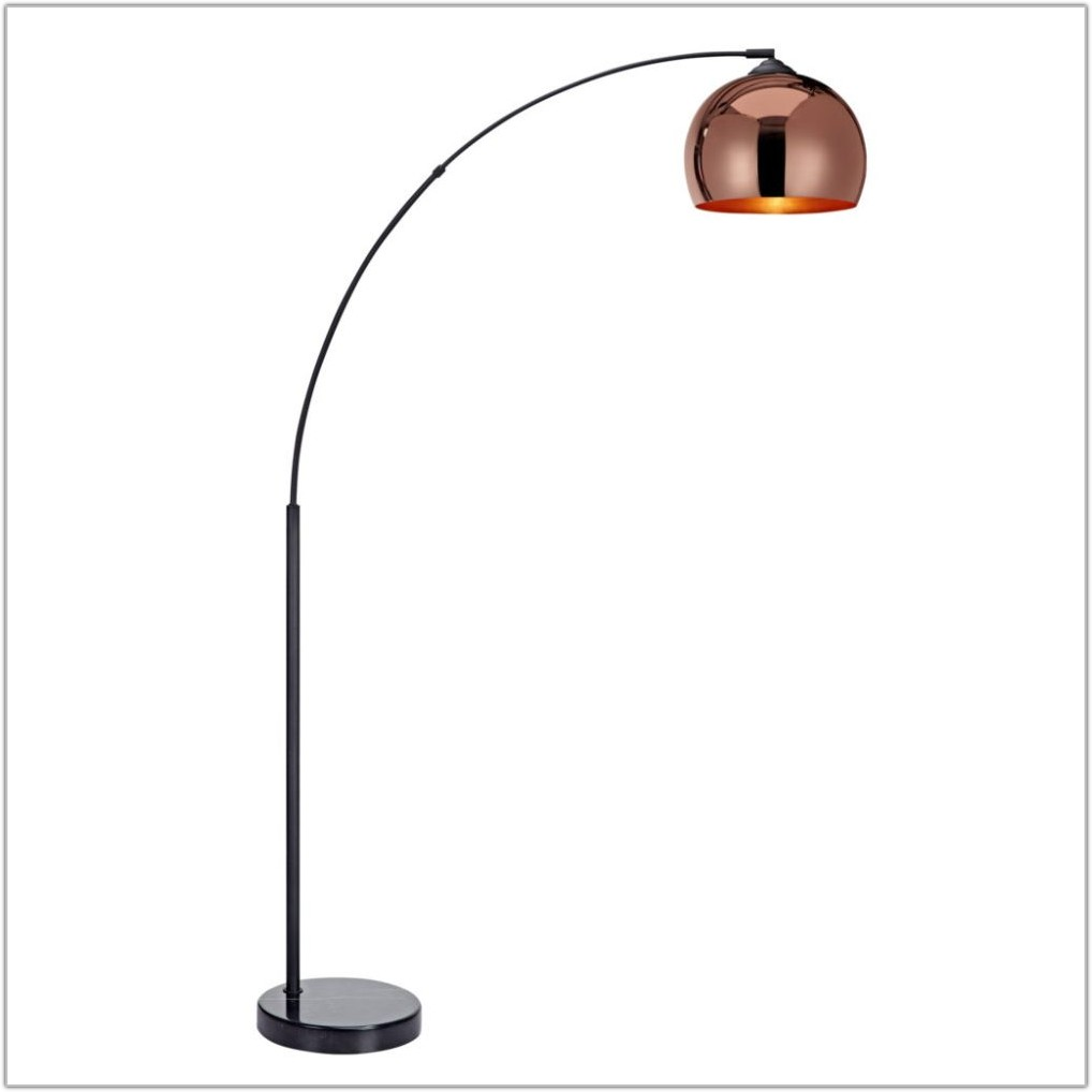 5 Arm Arch Floor Lamp Gold