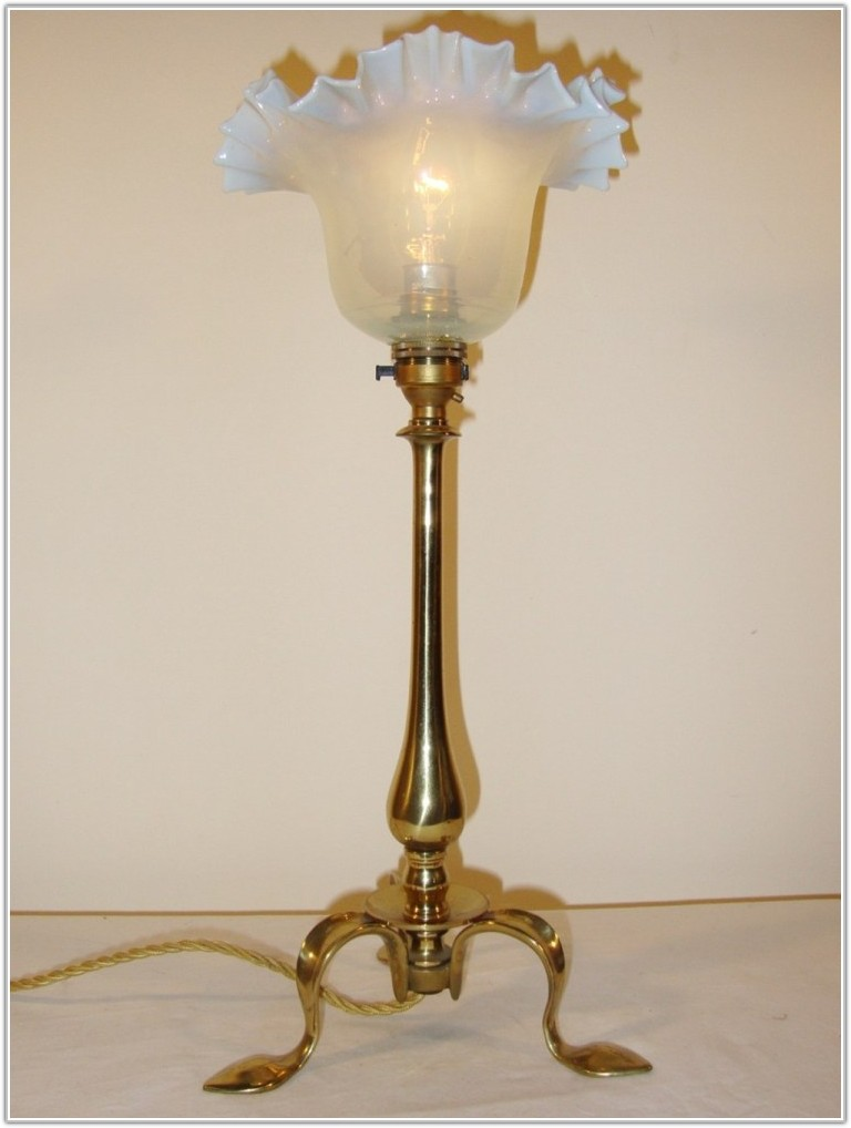 Antique Arts Crafts Table Lamps