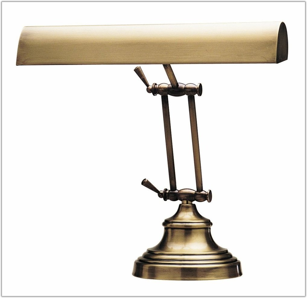 Antique Brass Table Lamp Value