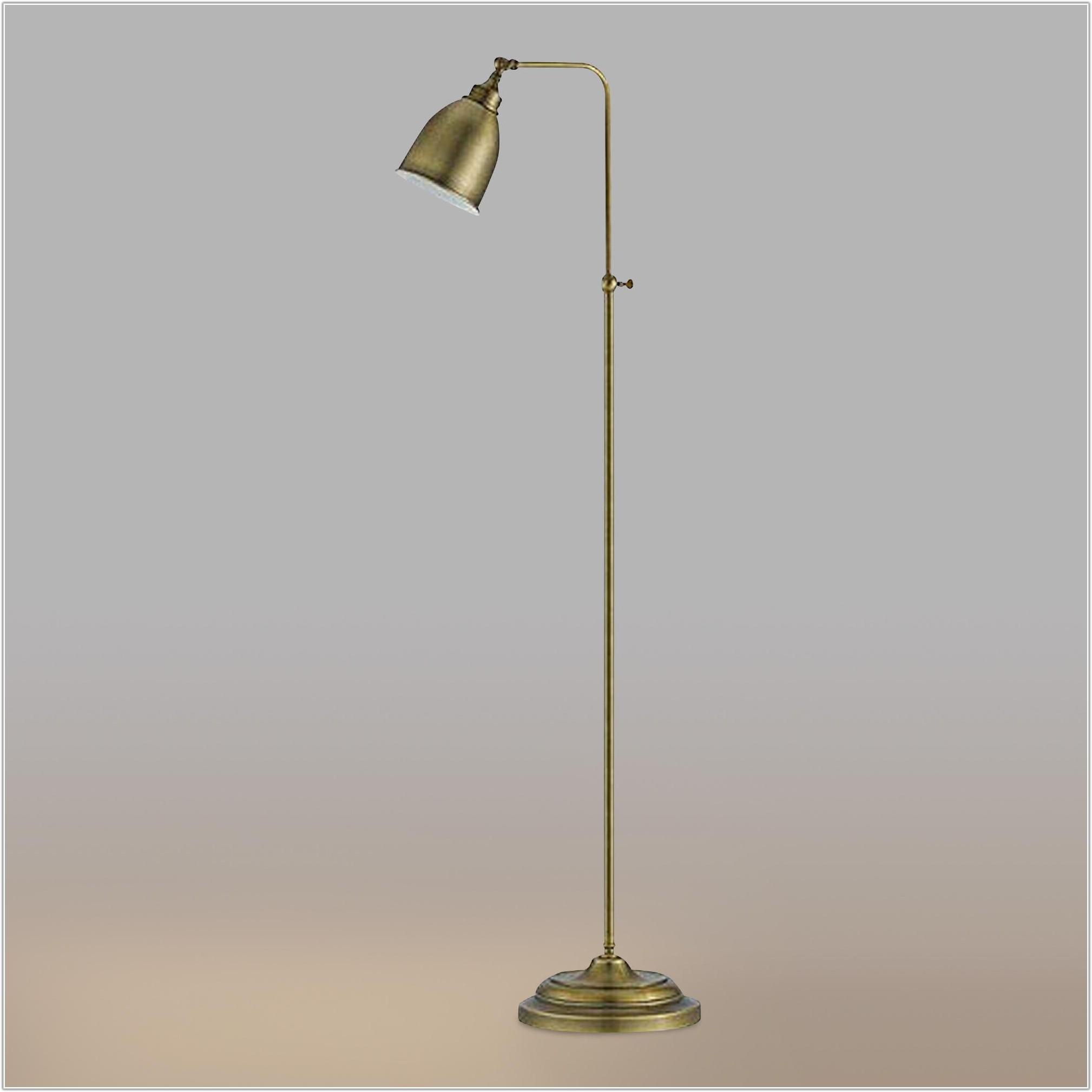 Antique Bronze Pharmacy Floor Lamp