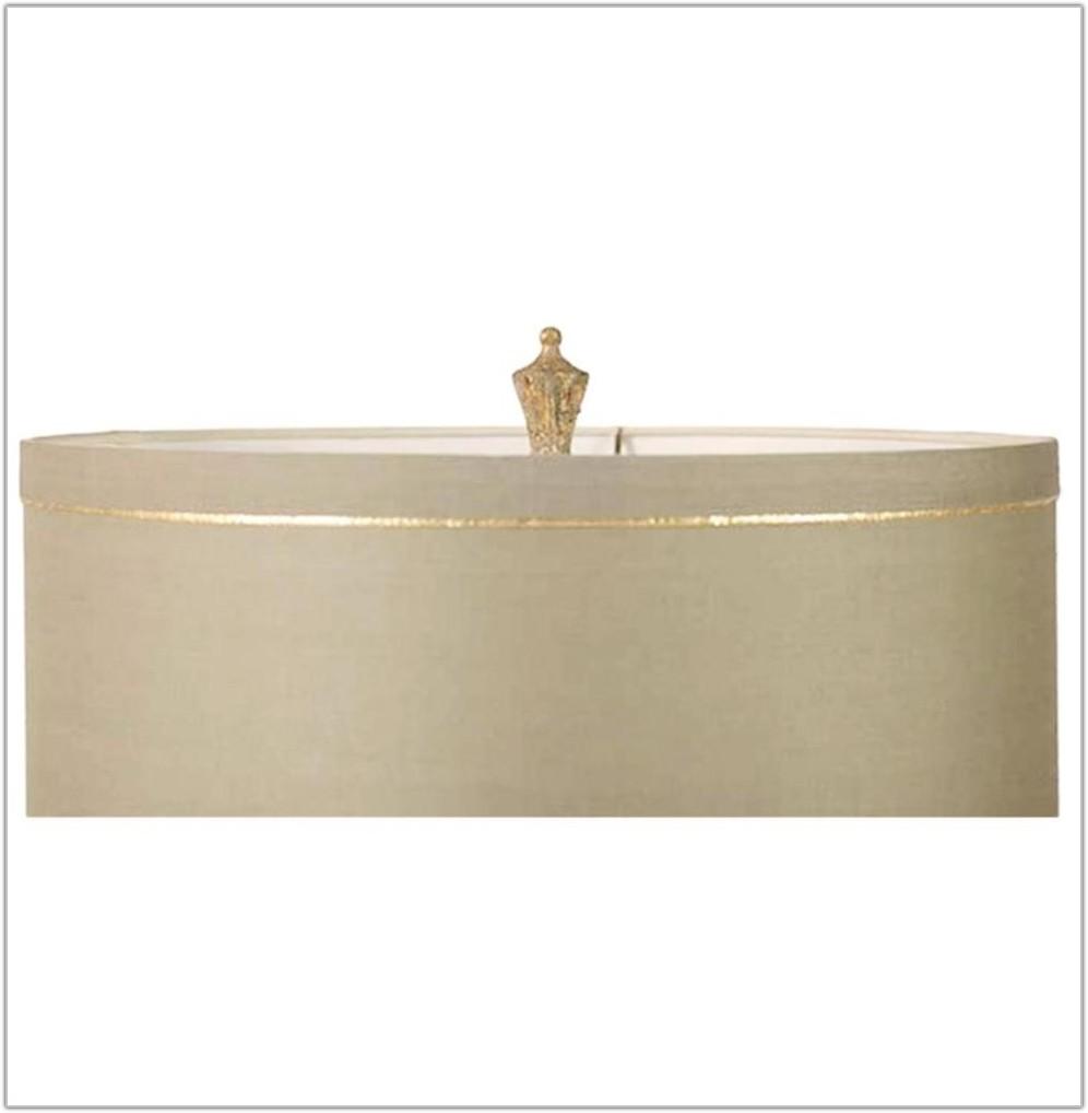 Antique Gold Quatrefoil Table Lamp