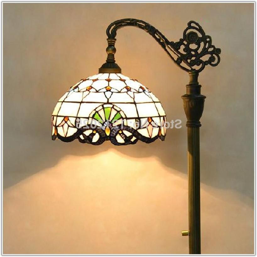 Antique Tiffany Style Floor Lamp