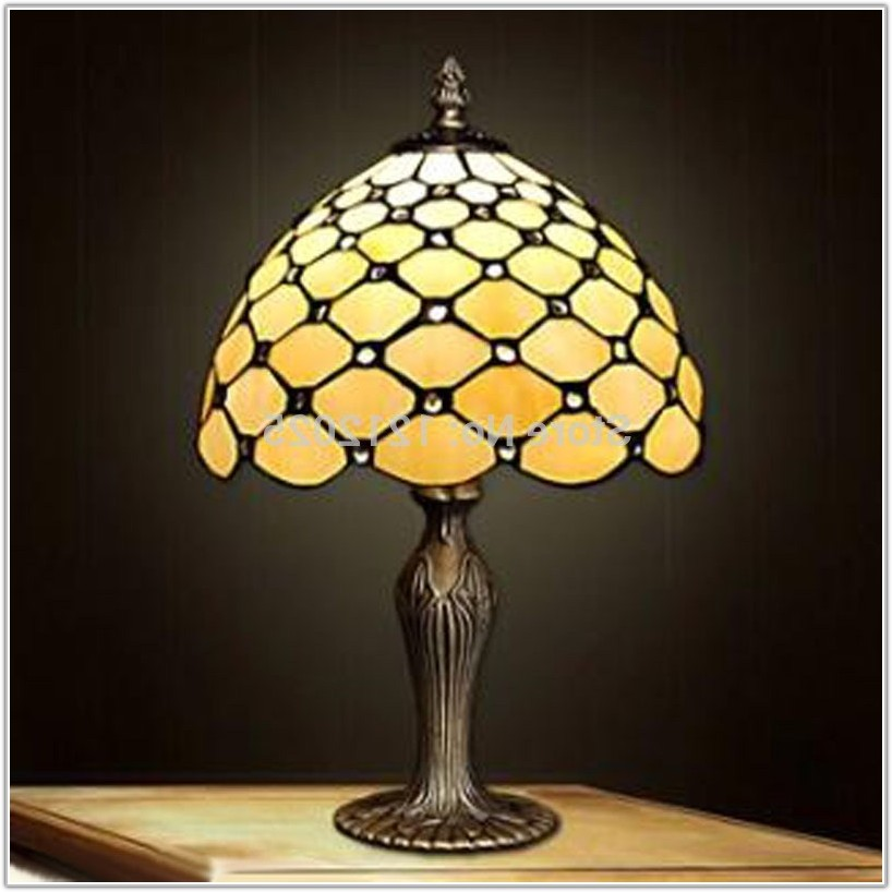 Antique Tiffany Style Table Lamps
