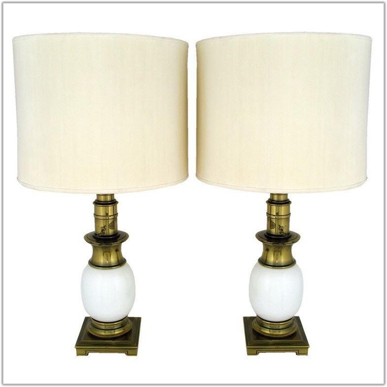 Antique Waterford Crystal Table Lamps