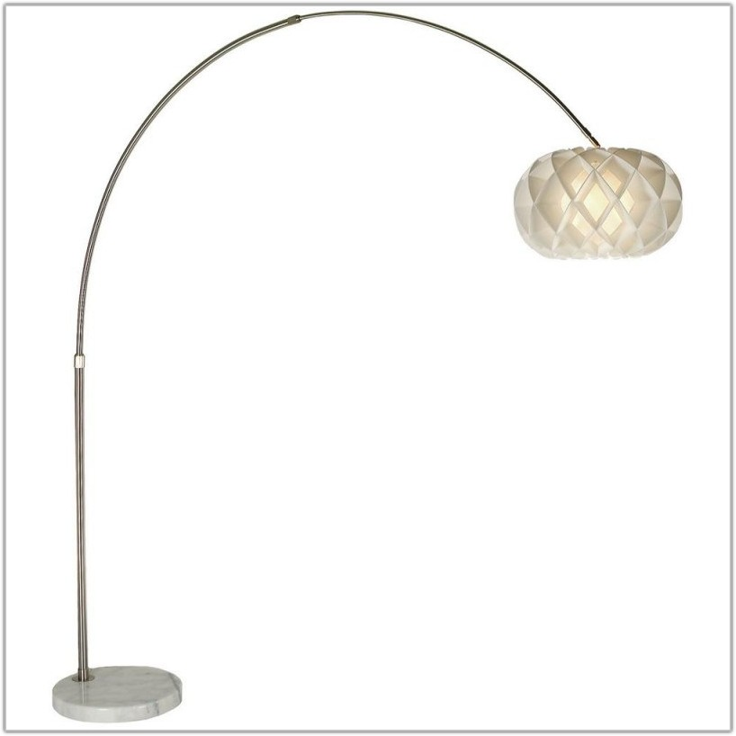 Arc Floor Lamp With Drum Shade